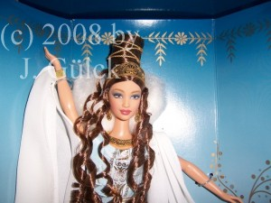 Goddess of love and beauty Barbie