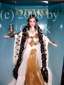 Goddess of Wisdom Barbie