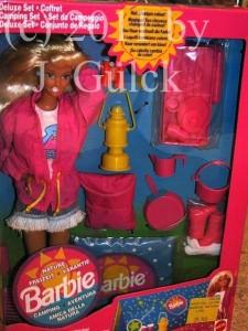Camp Fun Barbie Deluxe Set