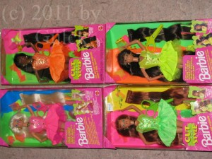 Cut & Style Barbie dolls