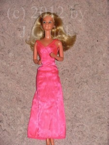 Superstar #1 Barbie in pink dress