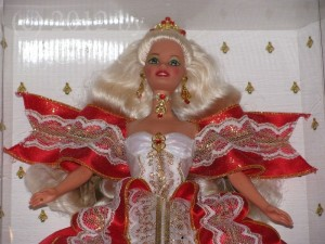 Happy Holidays Barbie 1997