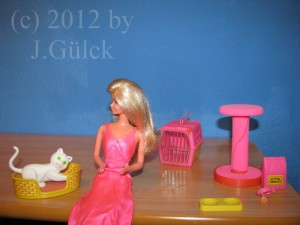 Barbie and Fluffy