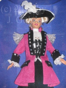 George Washington Barbie