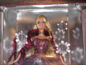 Holiday 2004 Barbie from Sears, regular doll wore a green dress