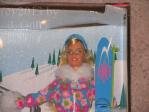 Skiing Vacation Barbie