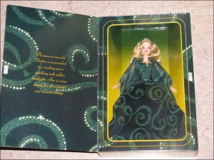 Emeral Enchantment Barbie in Box