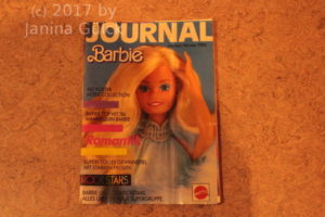 Barbie Journal Herbst/Winter 1986