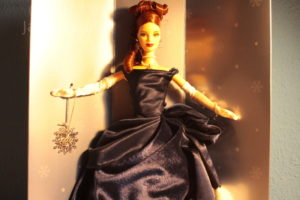 Club Exclusive Holiday Treasures Barbie