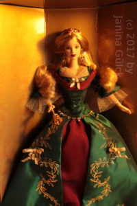 Second Holiday Treasures Barbie