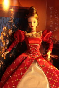 First ever produced Holiday Treasures Barbie
