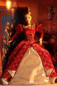 First Holiday Treasures Barbie