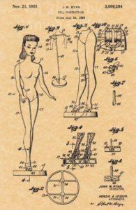 Barbie Ponytail Nr. 1 Patent