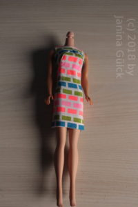 #1686 Barbie dress