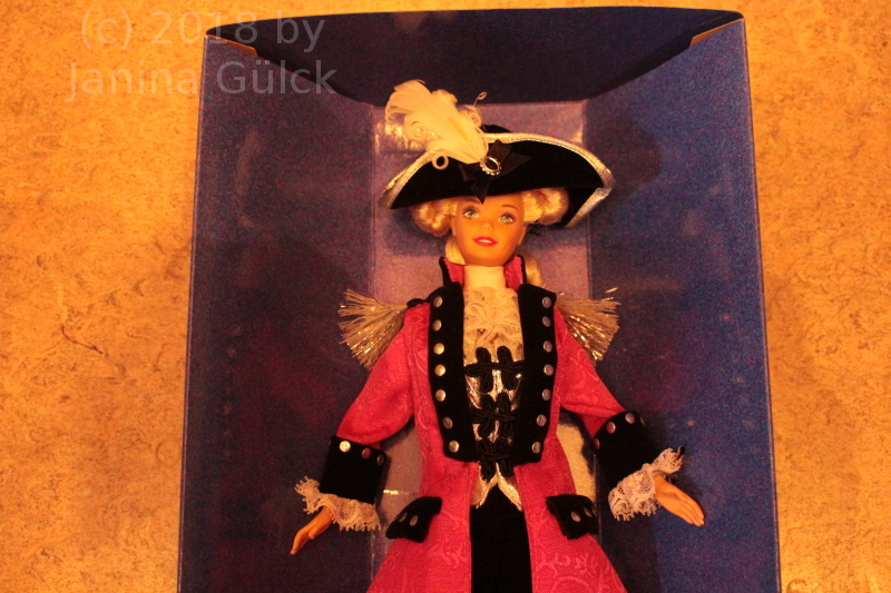 FAO Schwarz George Washington Barbie 1997